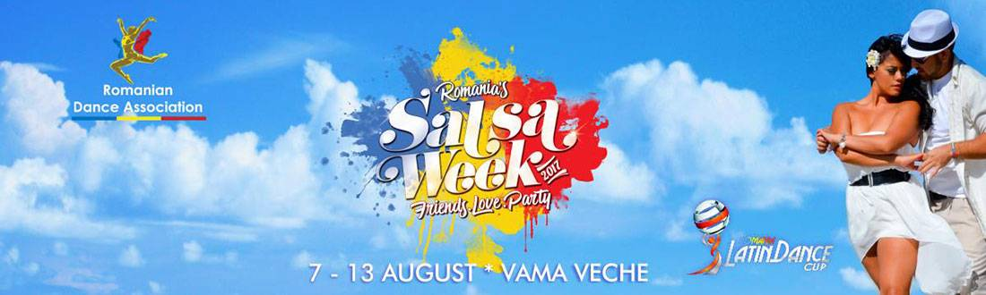 Sara Lopez will dance at the 13th edition of SALSA WEEK ROMANIA in